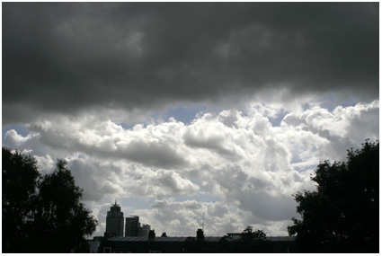zou het gaan regenen?
