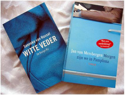 mooie en blauwe boeken
