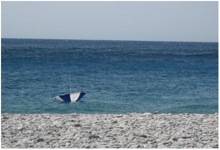 zon, zee, strand en wind