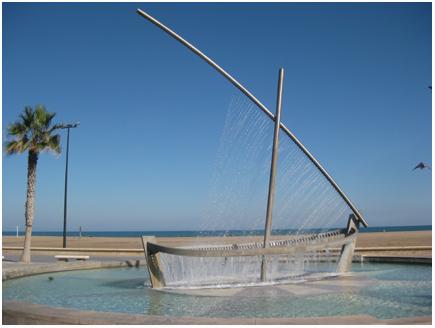 playa de valencia  fijn