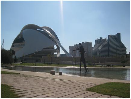 calatrava ciudad de las artes y las ciencias.