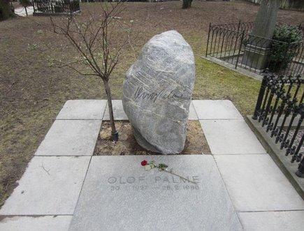 Het graf van Olof Palme