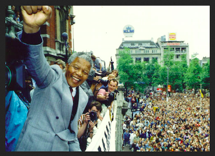Nelson Mandela Leidseplein
