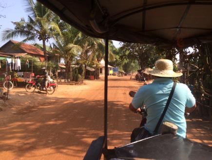 Lucky Somnang best tuktuk driver