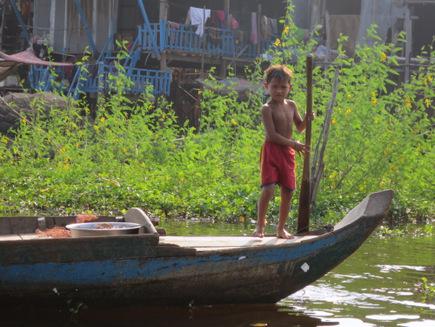 Cambodja boot