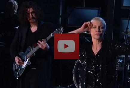 Annie Lennox at the Grammys